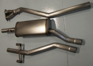 Single Pipe M3 Exhaust